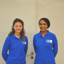 ESA congrès dermatologie hôtesse accueil